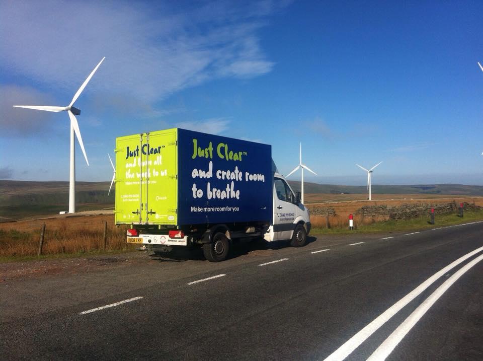 just clear windfarm