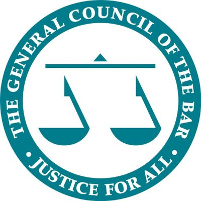 the general council of the bar, justice for all logo