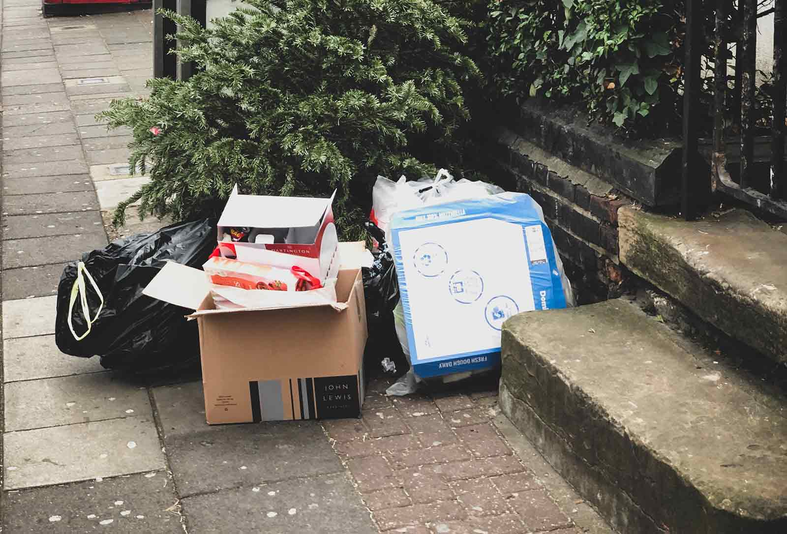 Rubbish removal services in London