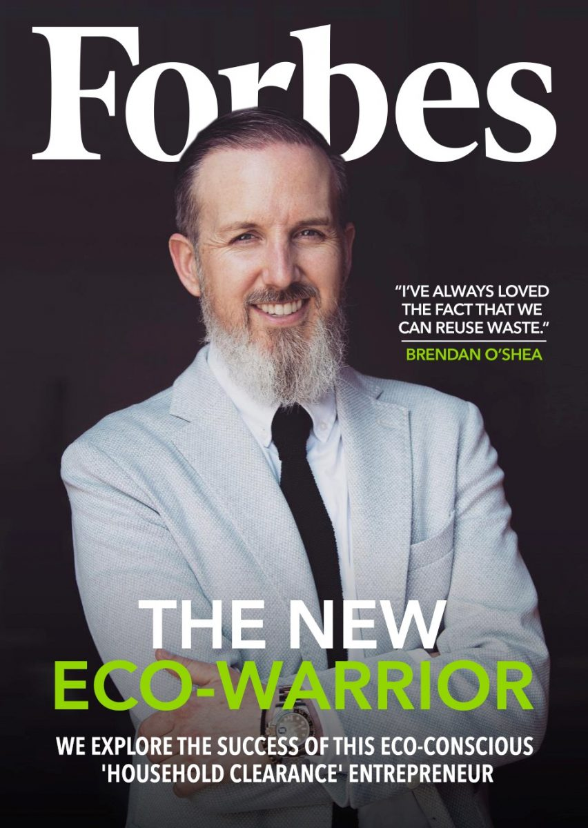 Forbes front cover with Just Clear